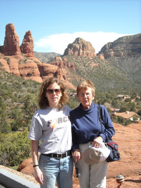 Visiting Arizona with Mom